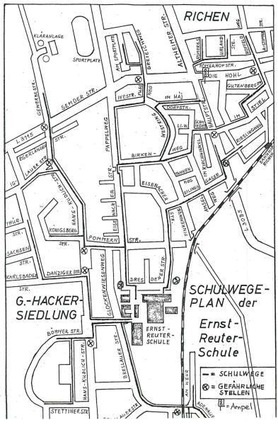 Fußwegeplan 1