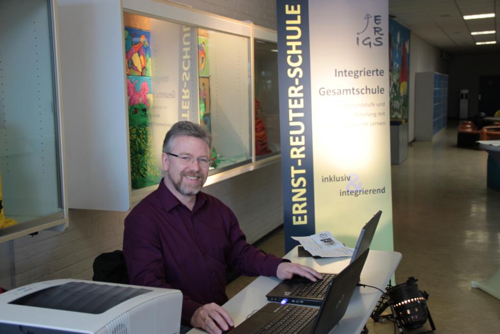 BIT-Organisator Thomas Kirchhöfer
