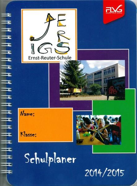 Schulplaner Schuljahr 2014/2015 (Deckseite)