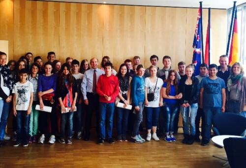 Besuch Hess. Landtag