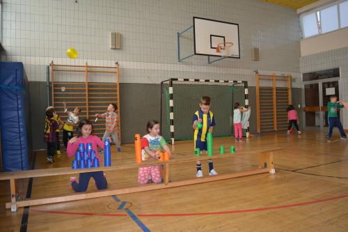 Sport- und Spieltag in der Grundstufe