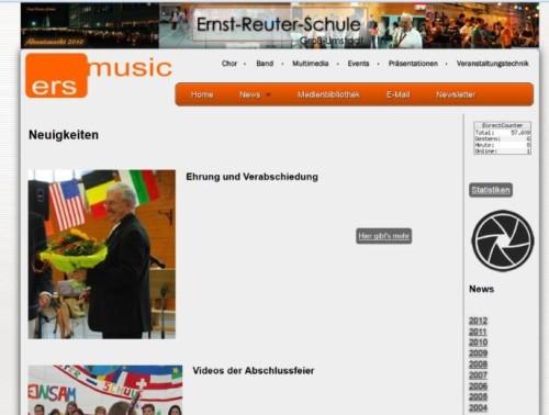 Ein Blick auf die Musikhomepage unseres ehemaligen Kollegen Karl Enders.