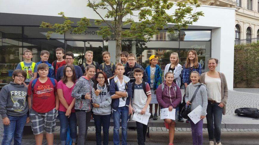 Klasse 6c zu Besuch im Frankfurter Zoo