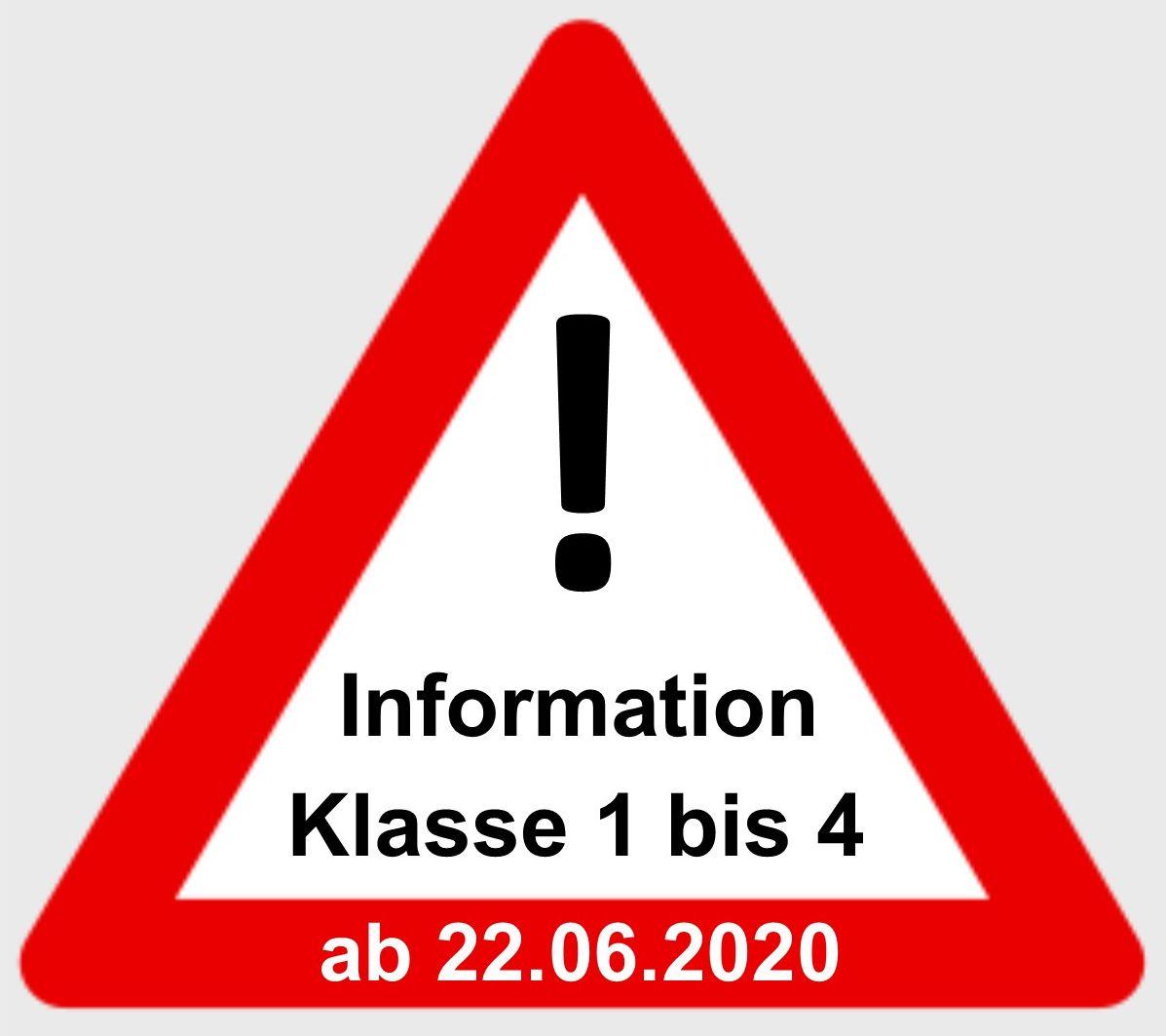 Informationen Schulbetrieb Klasse 20 bis 20 ab 20.20.20 — Ernst ...
